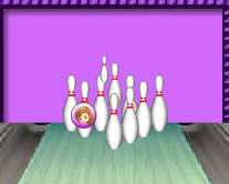 Sofia the first bowling j�t�k